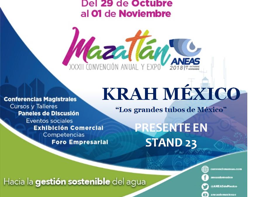 Krah México presente en ANEAS 2018
